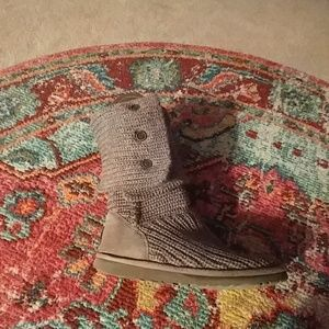 Ugg knit boots knit boots size 7